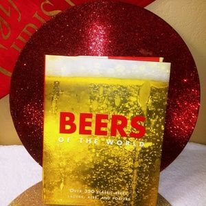 BEERS of the World coffee table book - NEW